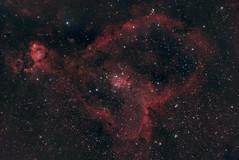 IC1805 (Zaccar_spirit) Tags: heart nebula ic1805 astronomy astrophotography sony a7s ts 107700 apo triplet skywatcher azeq6gt space night sky dark long exposure mirrorless astrodon cassiopeia