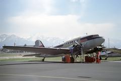 N19906 Douglas DC-3/C-47A Dakota Salair (pslg05896) Tags: n19906 douglas dc3 c47 dakota salair slc kslc saltlakecity