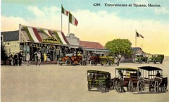 Tijuana, Mexico ca.1910 (Steven Czitronyi) Tags: postcard tijuana mexico