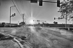 The Sun Rises on Autumn (kendoman26) Tags: hdr nikhdrefexpro2 niksilverefexpro2 niksoftware nikon nikond7100 tokinaatx1228prodx tokina tokina1228 sunrise monochrome happymonochromemonday blackandwhite