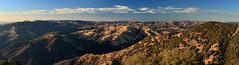 Mount Hamilton Panorama - 1 (fksr) Tags: landscape hills goldenhour mounthamilton lickobservatory santaclaracounty california panorama clouds