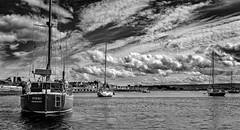 Findhorn Bay boats (Tom McPherson) Tags: boats yachts yacht inlet sailing bay water sea boat findhorn
