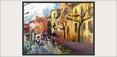 FRAGA-PINTURA-PASSEIG-PASEO-PINTAR-MAÑANA-POBLES-PAISATGES-FRANJA-ZARAGOZA-ARAGON-PAISAJES-PASEO-FOTOS-PINTANDO-PINTURAS-PINTOR-ERNEST DESCALS (Ernest Descals) Tags: fraga aragon zaragoza passeig paseo pintar viajar viajes art arte artwork pinturas cuadros quadres cuadro lienzo pinceles mañana horas momentos moments fotos paint pictures manresa catalunya pueblos ciudad ciudades pobles ciutat iglesia arboles pintando pintant edificios gamas tonos luz luces light atmosfera detalles pintor regreso cariñena viaje pintores pintors painters painter painting paintings fotografias ernestdescals temperatura arbres paisatge paisatges paisajes paisaje landscaping landscape plastica plasticos artistas artista artist kilometros espacio distancia recorrido franja iglesias casas