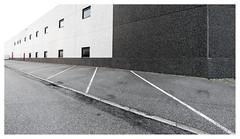 Geometry of the industrial park (leo.roos) Tags: industrieterrein industrialpark industrialestate tradingestate abc westland a7rii voigtlanderheliarhyperwide10mmf56 emount cosina cv darosa leoroos voigtlander1056 wall muur window raam