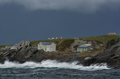 (EvenHarbo) Tags: nikond7100 nikon norge norway rogaland vigdel cabin wind waves water ocean northsea bunker ww2bunker coast sola weather