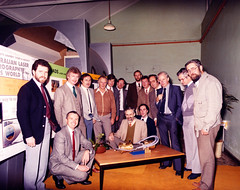 Project Team Personnel 1986 (Serendigity) Tags: team project personnel hydrographicservice laserairbornedepthsounder dsto laser australia engineering royalaustraliannavy laserbathymetry aeronautical visionsystems southaustralia lads adelaide au