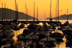 Porto Venere, Liguria (Obliot) Tags: a7r3 lerici liguria ottobre limpido sera laspezia mare a7riii portovenere molo barche giallo colline tramonto obliot 2018 autunno orizzonte riflessi porto alberi arancione vele sony