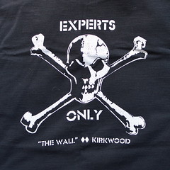 Experts only (mag3737) Tags: experts only thewall wall kirkwood skull crossbones tshiret