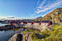 Norwegen - Lofoten, Mortsund (www.nbfotos.de) Tags: norwegen norge norway lofoten mortsund ferienhaus ferienhäuser