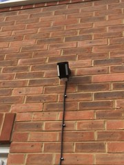 "Ring Smart Spotlight Camera, Wired Installed in Harrow, London. • <a style=""font-size:0.8em;"" href=""http://www.flickr.com/photos/161212411@N07/31978495598/"" target=""_blank"">View on Flickr</a>"