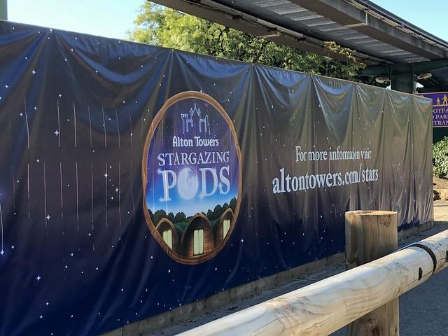 Advert for Stargazing Pods