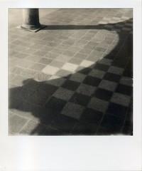 n.t. (uglymonday) Tags: polaroidsx70 polaroid originals film 600 polaroidoriginals600 blackandwhite instantfilms ishootfilm
