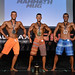 Mens Physique Junior 2nd Tisdale 1st Dornhoff 3rd Scheerer