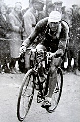 1932 TDF Dédé in the Storm (Sallanches 1964) Tags: tourdefrance 1932 andréleducq galibier mountainstage tourdefrancewinners