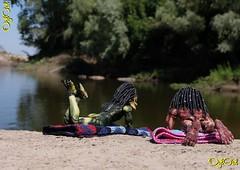 №578. Young Predators on the Mangut River (OylOul) Tags: oyloul 2018 q4 oct 16 action figure predator