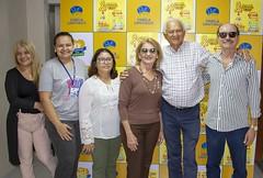 Diretoria do Sincofarn faz entrega de brinquedos no Hospital Infantil Varela Santiago