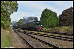 No 34092 City of Wells 7th Oct 2018 Great Central Railway Steam Gala (Ian Sharman 1963) Tags: no 34092 city wells 7th oct 2018 great central railway steam gala class wc bb west country and battle of britian 462 station engine rail railways train trains loco locomotive passenger heritage line gcr loughborough quorn woodhouse rothley brook leicester north