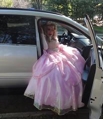 Cinderella had the same problem (rgaines) Tags: costume cosplay crossplay drag fairyprincess fairygodmother coxfarms funny