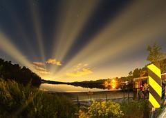 IMG_6479 (Desmojosh) Tags: canon 70d 8mm altura f3 medford new jersey nj atsion lake night shots long exposure stars luminar landscape blue water clouds trees
