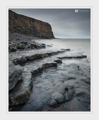 Endure (Stuart Leche) Tags: cliff clouds coast erosion geology landscape lias limestone longexposure monknashcoast outdoor rocks scenic sea seascape stuartleche tanker valeofglamorgan wales wwwstuartlechephotography