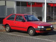 1989 Mazda 323 (harry_nl) Tags: netherlands nederland 2018 eindhoven mazda 323 xf29pl sidecode4