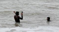 NU8A9117 (felt_tip_felon®) Tags: surf brighton beach surfsup bodyboarding bodyboard ocean plasticfreesea tide waves break shore seaside palacepier albionbeach