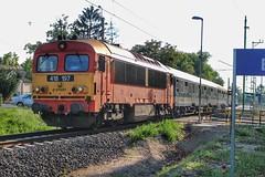 418-197 (Péter Vida) Tags: train railroad máv m41 tree sky locomotive diesel railway