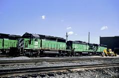 BN SD40-2 8108 (Chuck Zeiler) Tags: bn sd402 8108 railroad emd locomotive clyde train chuckzeiler chz