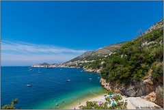 beach.dubrovnik@croatia (Rinaldofr) Tags: canon6dmkii canonef1635f4is beach sea sky clouds blue smerald dubrovnik croatia summer nature