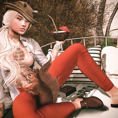 📷 ᵃᵘᵗᵘᵐᶰ ᵗᵒᶰᵉˢ. (ℒزdsα) Tags: exile lagyo scandalize bleich kunst ambition itdoll doll girl cute woman lotd fashion game gamer gamergirl gamedoll avatar sl secondlife slavatar slfashion free freebie mesh pixel virtual virtualworld beauty beautiful photo photograph snapshot clothing clothes picture blog blogger slblogger secondlifeblogger moda event evento roupas gratuito garota blogueira loja sponsor autumn squirrel orange outono drink animal laranja chapéu hat tattoo