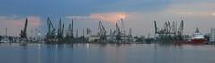 Port Varna (lyura183) Tags: bulgaria българия varna варна sea blacksea черноморе port cranes