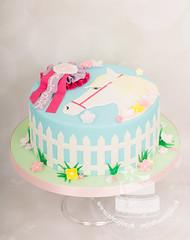 AJ1E5398_1.jpg (toertlifee) Tags: törtlifee 2018 kinder torte child birthday cake pony horses girl blue pink violet flowers