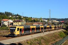 CP 3400 + 3400 (Nelso M. Silva) Tags: suburbano cp 3400 siemens bombardier linha douro automotora elétrica emu
