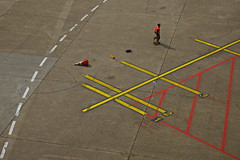 Airfield (RadarO´Reilly) Tags: flugfeld airfield flughafen airport grafik graphic street düsseldorf nrw germany