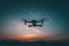 Sunset Flight (Tim RT) Tags: tim rt reutlingen germany dji djiglobal mavic mavicpro pro sunset color hypebeast visual inspired drone fromwhereidrone sky aerial photography new picture fly 2018 52of2017