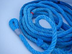 Seil (wezetauswe) Tags: mft lumix gf7 seil rope blau