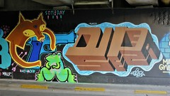 Kathaoir & Duper / Ter Platen - 9 sep 2018 (Ferdinand 'Ferre' Feys) Tags: gent ghent gand belgium belgique belgië streetart artdelarue graffitiart graffiti graff urbanart urbanarte arteurbano ferdinandfeys