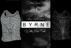 (BYRNE) WebbyMensTankAD-OCTGROUPGIFT (ByrneDarkly-www.tartiste.wordpress.com) Tags: byrne spiderweb mens tanktop monochrome mesh fashion gift freebie