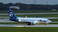 Alaska Airlines Boeing 737-790(WL) N614AS (MIDEXJET (Thank you for over 2 million views!)) Tags: milwaukee milwaukeewisconsin generalmitchellinternationalairport milwaukeemitchellinternationalairport kmke mke gmia flymke alaskaairlinesboeing737790wln614as alaskaairlines boeing737790wl n614as boeing737790 boeing737700 boeing737 boeing 737700 737 737790 wisconsin unitedstatesofamerica
