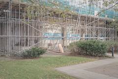 Elephant and Castle (Andy Feltham...) Tags: pentax k1 zeissdistagont235 london newtopographics scaffolding alteredlandscape prettymundane liminalspace