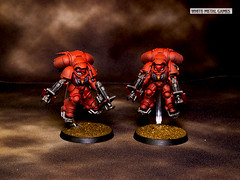 Blood Angels Inceptors (whitemetalgames.com) Tags: warhammer40k warhammer 40k warhammer40000 40000 paintingwarhammer gamesworkshop games workshop citadel whitemetalgames wmg white metal painting painted paint commission commissions service services svc raleighlaughter knightdale knight dale northcarolina north carolina nc hobby hobbyist hobbies mini miniature minis miniatures tabletop rpg roleplayinggame rng warmongers inceptors blood angels