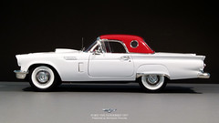 Ford Thunderbird 57-16 (Aeronautic Pictures) Tags: ford thunderbird convertible 1950 1957 118 aeronauticdk aeronautic americana diecast modelcar autoworld auto limited edition