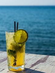 The Daily Afternoon Mojito (Rich Cafe-Bar - Romeikos Gialos Seafront (Limnos - Greece) (Olympus OM-D EM1-II & M.Zuiko 40-150mm f2.8 Pro Zoom) (1 of 1) (markdbaynham) Tags: greece greek limnos lemnos hellenic olympus em1 drink cocktail mojito 40150mm f28 myrinatown em1mk2 em1ii mzd zuikolic mz zd mzuiko omd evil olympusmft microfourthirds m43 olympusomd em1mark2