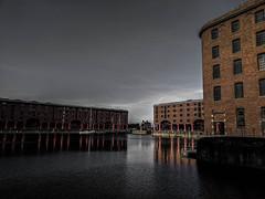 Albert Dock, Liverpool (bobbex) Tags: merseyside water liverpool unescoworldheritagesite unesco iconic albertdock brick listedbuilding