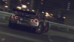 Nissan GT-R (Matze H.) Tags: nissan gtr gt1 gt2 gt3 gt sport gran turismo tuning night city race drift dark scapes ingame render photo mode screenshot wallpaper 4k uhd hdr