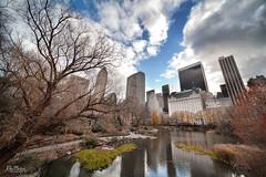 Central Park Autumn (Enrique J. Mateos Mtnez) Tags: canon5d sigma1224 nyc central park hdr nubes otoño