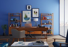 bookcase-chairs-clean-667838 (Doubbt) Tags: bookcase chairs clean decor decoration design floor furnitures home office indoors inside interior minimalist modern paintings plant room shelf sofa table trading window