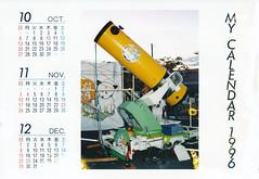 19960000_IMG_0004 (NAMARA EXPRESS) Tags: postcard photograph calendar paper telescope memorial typhoons storm surge color japan film canon canoscan 9000f scanner scan namaraexp