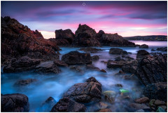 Colourful Calm (Augmented Reality Images (Getty Contributor)) Tags: nisifilters autumn benro canon cliffs clouds coastline landscape longexposure morayshire morning portknockie rocks scotland seascape sunrise water waves