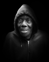 E-Rodney (mckenziemedia) Tags: homeless homelessness man male face chicago city urban street streetphotography shadows light portrait portraiture lowkey